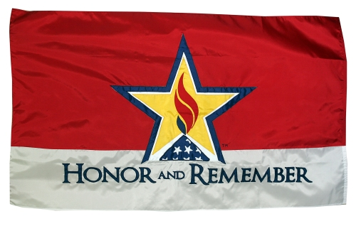 The Honor and Remember flag.